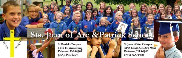 Sts. Joan of Arc & Patrick School | Kokomo, IN